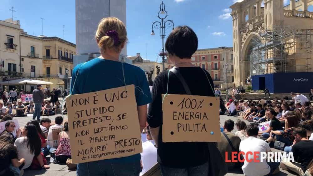 """Secondo sciopero globale per il cima a Lecce: torna la ribellione """"verde"""""""