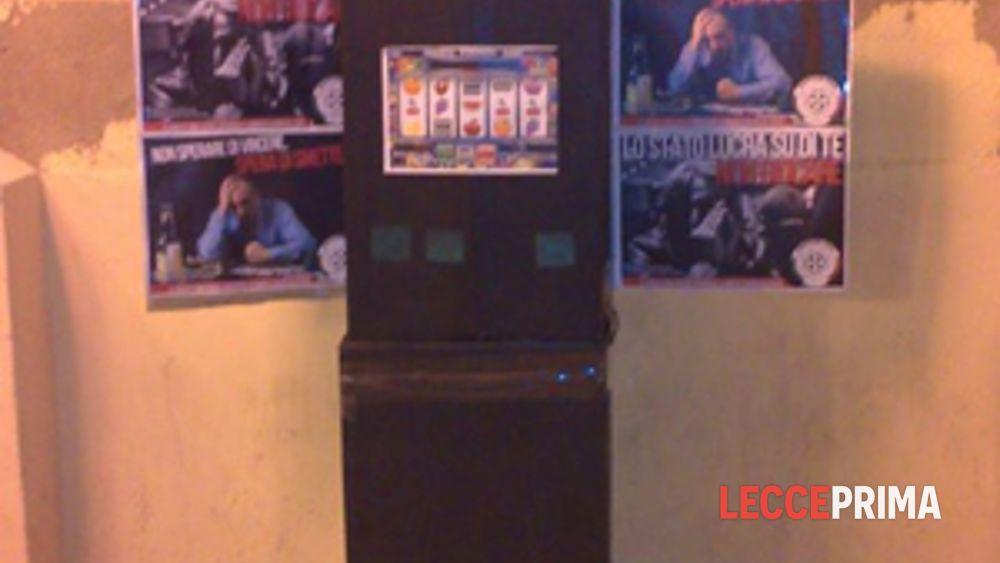 Slot machine lecce