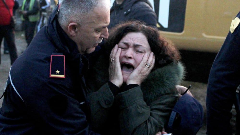 """Dal centro di Tirana, la eco della paura: """"Terribile, sono rimasta ..."""