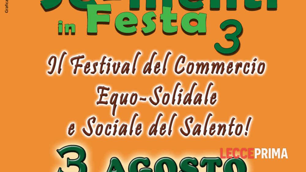 new product cb19c 1e313 Festival del commercio equo-solidale e sociale del Salento ...