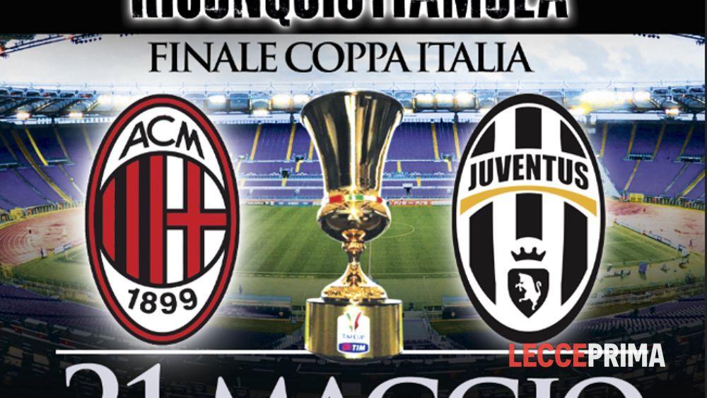950e0e1a280a4 Finale di Coppa Italia  il 21 maggio trasferta in pullman Eventi a Lecce